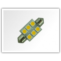 Festoon LED Light 37mm Warm White